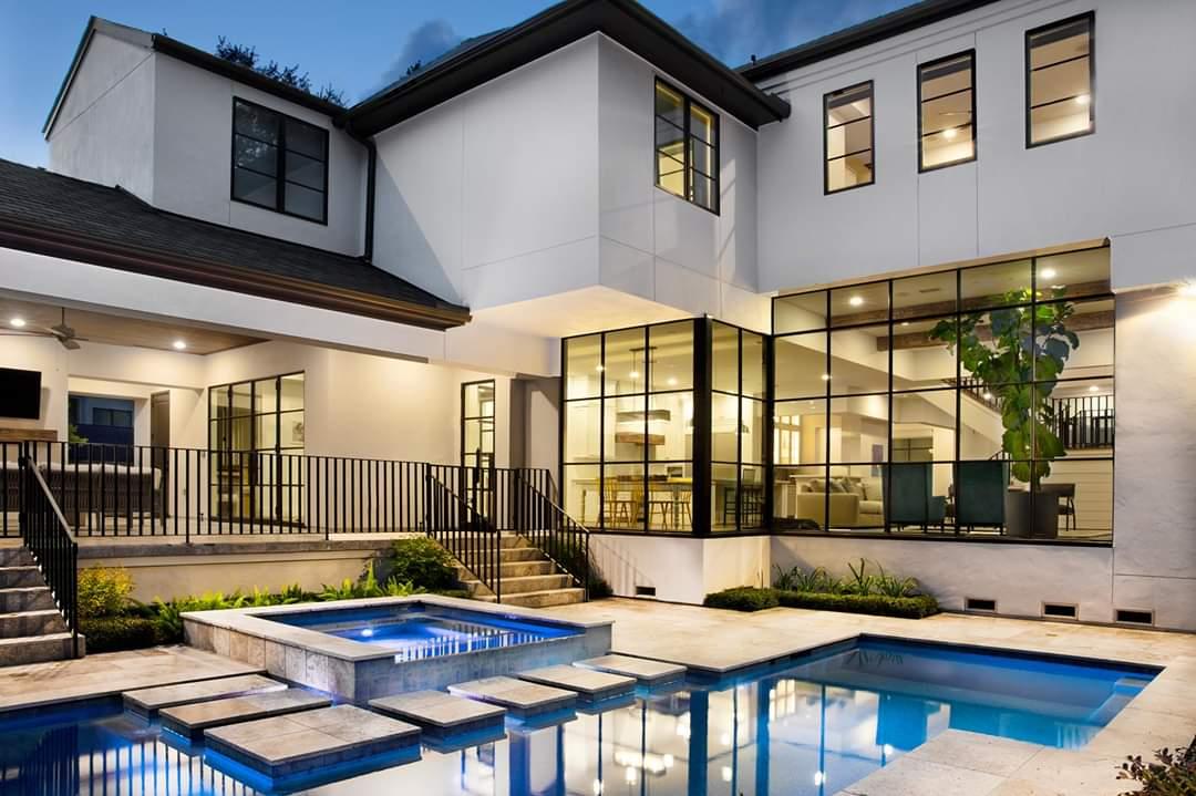 Window Wall and Pool